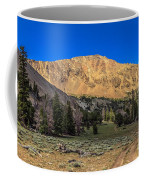 White Knob Mountain Peak Coffee Mug