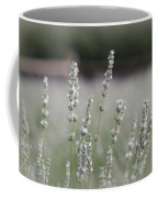 White Lavender Coffee Mug