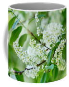 White Lilac Coffee Mug