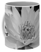 White Lotus 2 Bw Coffee Mug