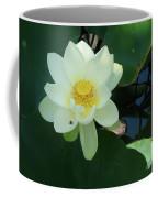 White Lotus I Coffee Mug