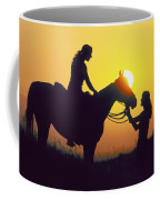 White Mountain Sunset Coffee Mug