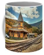 White Mountans Crawford Train Depot Coffee Mug
