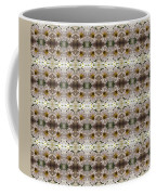 White Mums Design Coffee Mug