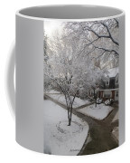 White Neighbourhood Coffee Mug