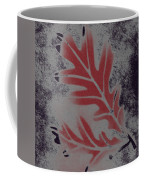 White Oak Leaf Coffee Mug