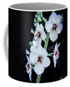 White On Black Coffee Mug