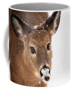 White On The Nose Coffee Mug