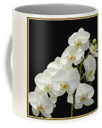 White Orchids II Coffee Mug by Tom Prendergast