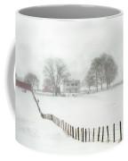 White Out Coffee Mug