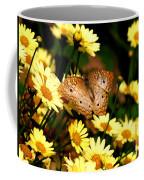 White Peacock Butterfly I I Coffee Mug