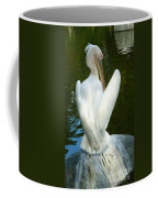 White Pelican Back Coffee Mug