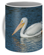 White Pelican Swimming Coffee Mug