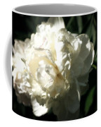 White Peony In Spring Coffee Mug