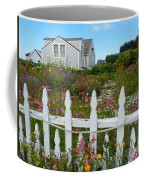 White Picket Fence In Mendocino Coffee Mug