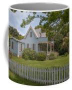 White Pickett Fence Coffee Mug