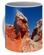 White Pockets Coffee Mug