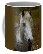 White Pony Coffee Mug