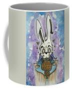 White Rabbit Coffee Mug