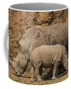 White Rhino 4 Coffee Mug