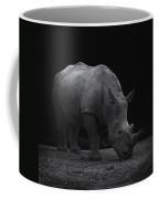White Rhinocero Coffee Mug