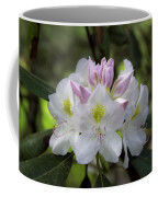 White Rhododendren Coffee Mug