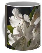 White Rhododendron B Coffee Mug
