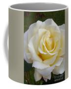 White Rose Named Ray Of Sun Coffee Mug