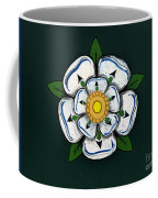 White Rose Of York Coffee Mug