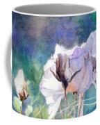 White Roses In The Shade Coffee Mug