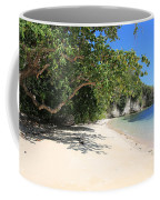 White Sand And Blue Sky Coffee Mug