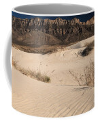 White Sand Below Coffee Mug