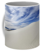 White Sands National Monument Big Dune Coffee Mug by Bob Christopher