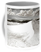 White Sands New Mexico Coffee Mug by Jack Pumphrey