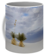 White Sands New Mexico Yucca Plants Coffee Mug