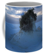 White Sands Turns Blue Coffee Mug