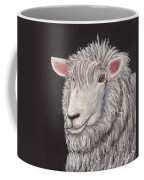 White Sheep Coffee Mug