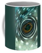 White-spotted Pufferfish Eye Coffee Mug