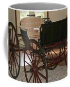 White Spring Carriage Coffee Mug