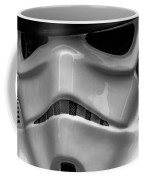 White Stormtrooper Coffee Mug by David Doyle