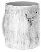 White-tail Doe High Key Coffee Mug