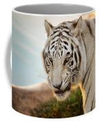 White Tiger At Sunrise Coffee Mug