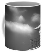 White Tower White Cloud Coffee Mug by Peter Tellone
