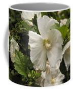 White Tree Flower Coffee Mug