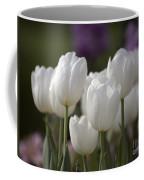 White Tulips 9169 Coffee Mug