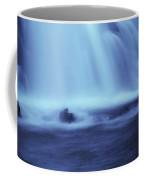 White Water Falling Down Coffee Mug