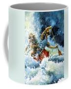 White Water Coffee Mug by Hanne Lore Koehler