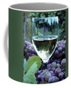 White Wine Reflections Coffee Mug