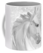 White Winter Horse 1 Coffee Mug