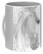 White Winter Horse 2 Coffee Mug